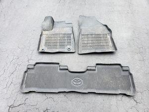 Genuine Toyota All-Weather Floor Mats. Fits 2014-2019 Highlander! for Sale in Olney, MD