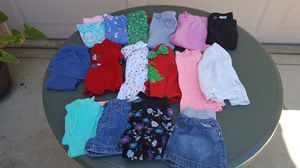 (24 MO)GIRLS CLOTHES 16 PIECES $20 FOR ALL for Sale in Escondido, CA
