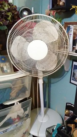 Oscillating 3-speed fan it also raises hirer for Sale in Indianapolis, IN