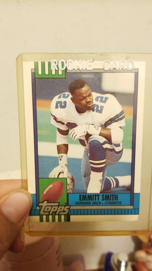 EMMIT SMITH 1990 ROOKIE CARD for Sale in Springfield, VA