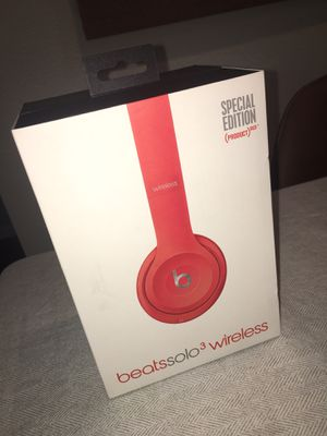 Beats Solo 3 - Red for Sale in Pinole, CA
