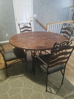 Brown Wood Dining Table for Sale in West Valley City,  UT