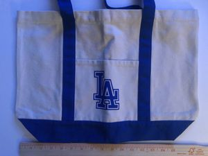 New Heavy duty canvas tote LA tote bag 16x13 $10 for Sale in La Puente, CA
