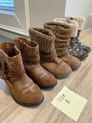 Girls toddler boots shoes for Sale in Atlanta, GA