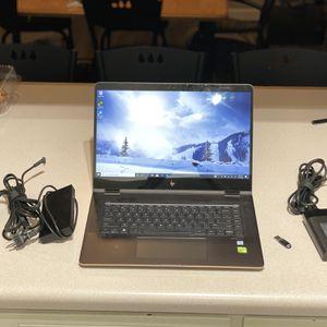 HP Spectre x360 notebook - i7, 16gb RAM, 512gb SSD, 4K with USB-C dock for Sale in Tempe, AZ