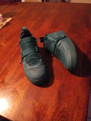 Women size 9. Men size 7.5. Nike Air Force 1s Explorer. Rugged shoe fashion/hiking + active. TRADE or cash. Intercambio o cash. for Sale in Phoenix, AZ