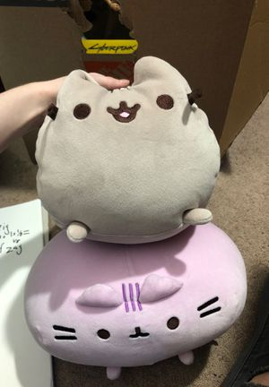 2 Pusheen cat plushies perfect condition for Sale in Scottsdale, AZ