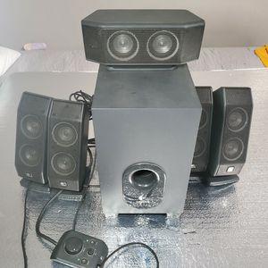 Logitech 5.1 Speakers for Sale in Los Angeles, CA
