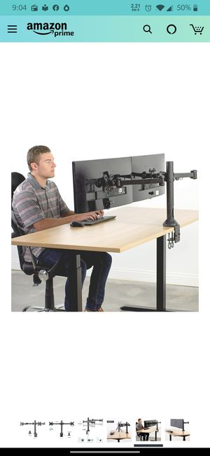 Dual Ultra-wife Monitor Mount for Sale in Santa Clara, CA