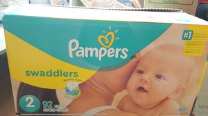 Pampers swaddlers size 2 for Sale in Stuart, FL