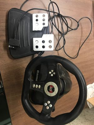 Ps2 steering wheel for Sale in Douglasville, GA