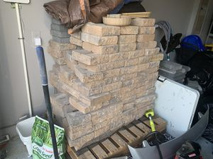 EP Henry imperial rustic double side wall 3 inch stone wall paver bricks - earth color for Sale in Chantilly, VA
