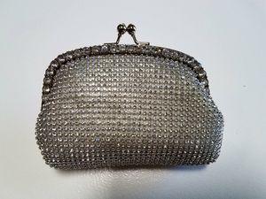 Wedding Rhinestone beaded bridal evening bag clutch for Sale in Scottsdale, AZ