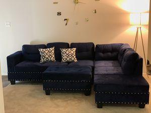 Blue Sofa for Sale in Alexandria, VA