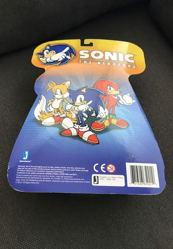 Sonic The Hedgehog Jazwares Action Figure