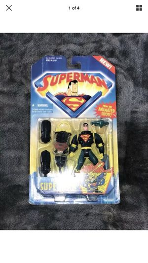 """Superman Deep Dive Action Figure """"1996"""" for Sale in Chelsea, MA"""