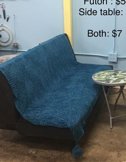Futon And Side Table for Sale in Chicago,  IL