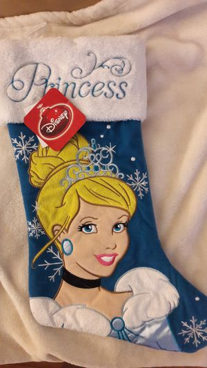 Disney Princess Cinderella Christmas Stocking NEW for Sale in Fort Lauderdale, FL