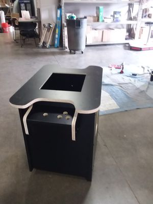 Empty cocktail style game cabinet for jamma, mame/raspberry pi project for Sale in Columbus, OH