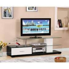 Modern Black and white TV Stand on Sale for Sale in Miami, FL