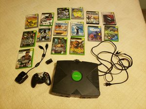 Original Xbox lot with 15 games and extras for Sale in Granite Falls, WA