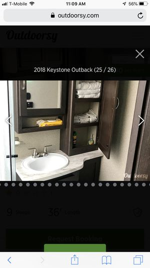 Keystone outback 324cg travel trailer for Sale in Kissimmee, FL
