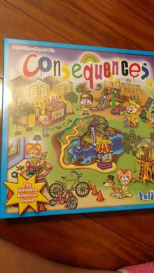 Consequences game for family game night for Sale in Tampa, FL