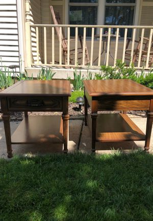 Vintage end tables for Sale in West Chicago, IL