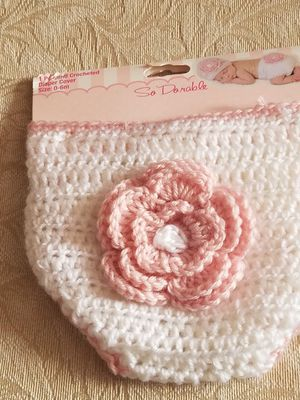 New Baby Crocheted Diaper Cover for Sale in WMS COLLEGE, AR