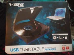 Vibe USB Turntable NEW for Sale in Littleton, CO