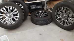,GRABBER HTS 20INCH rim's and tires for Sale in Beaumont, TX