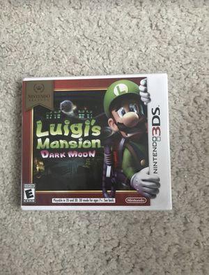 Brand new sealed Nintendo Luigi's Mansion Dark moon video game for Sale in Concord, CA