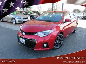 2016 Toyota Corolla for Sale in Sacramento, CA