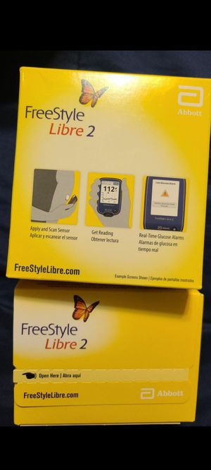 """Freestyle libre 2"" 14 day for Sale in Houston, TX"