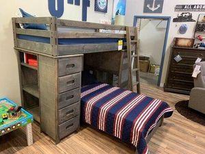 Twin over twin loft bed for Sale in Phoenix, AZ