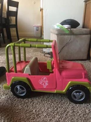 Doll Jeep-18 in doll for Sale in Oceanside, CA