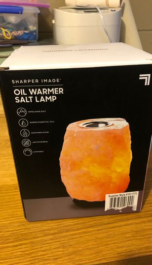 Sharper Image Salt Lamp for Sale in Columbus, OH