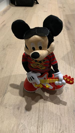 Mickey Mouse Rock Star Interactive Toy Sings Dances with Guitar for Sale in Los Angeles, CA