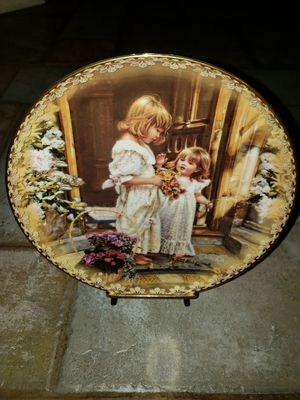 The Bradford Exchange: A Basket of Love by Sandra Kuck (Handfire Porcelain) for Sale in Puyallup, WA