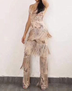 Pantsuit dress, fringe for Sale in Albuquerque, NM