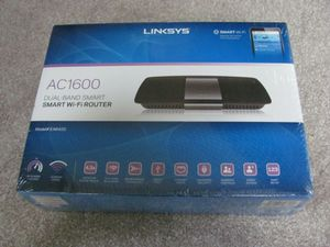 New Linksys EA6400 Dual-Band AC1600 Smart Wi-Fi Router SEALED for Sale in Houston, TX