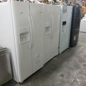 New GE 2-Door Refrigerator Factory Warranty for Sale in Hacienda Heights, CA