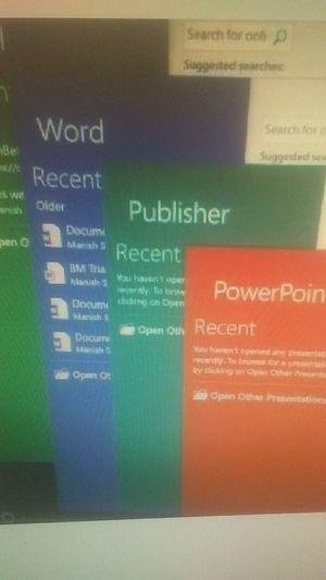 Microsoft Office Professional Plus 2016 program for sale for Sale in Savannah, GA