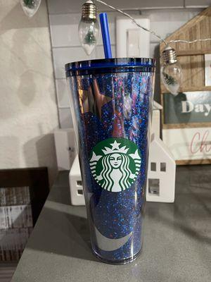 Starbucks Disney blue cup for Sale in Turlock, CA