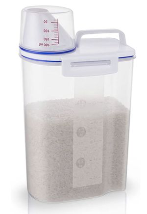 Rice Storage Bin Cereal Containers Dispenser for Sale in Glendale, AZ