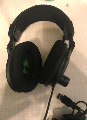 Turtle beach headset (needs adapter) for Sale in Hemet, CA