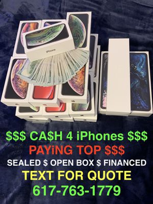 iPhone XS Max, iPhone XS, iPhone XR for Sale in Arlington, MA