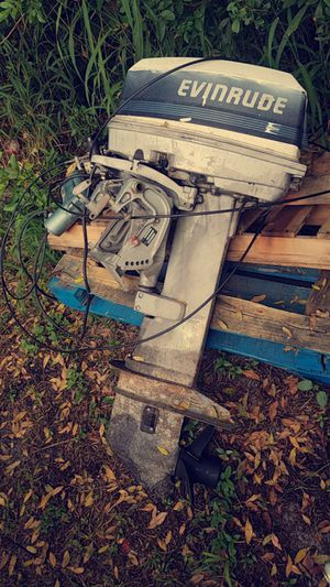 1989 25 evinrude outboard for Sale in Winter Haven, FL
