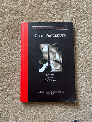 Civil Procedure, 7th Edition, Yeazell for Sale in Lynchburg, VA