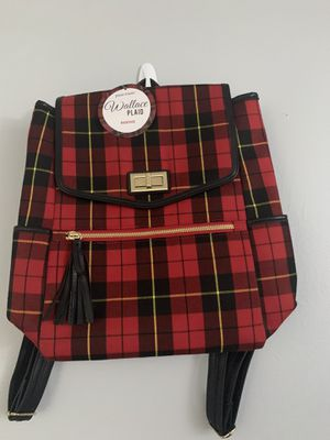 Plaid Backpack Purse!!! for Sale in Arlington, VA